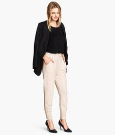 H&M jogging-style pants, perfect for a semi-dressed up lazy weekend