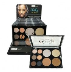 BEAUTY TREATS Cheeky Chic Palette Display Set, 12 pieces
