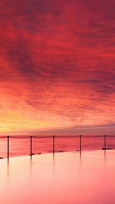 Wonderful Sunset Beautiful Beach Skyscape #iPhone #5s #wallpaper