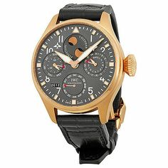 IWC Big Pilot Grey Dial Leather Strap Automatic Mens Watch US $49,800.00