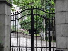 Awesome Wrought Iron Panel Fence