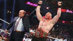 WWE News: 'Raw' Superstar Takes Shot At Brock Lesnar And Says He's Waiting For Him. Those sound like fighting words, but will it ever actually happen? Wrestling Superstars, Wrestling News, Wwe Latest, Brock Lesnar Wwe, Paul Heyman, Braun Strowman, Vince Mcmahon, Wwe World, Wwe News
