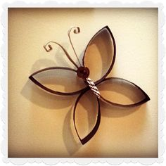 Ashley's Craft Spot: Paper Towel Roll Butterflies