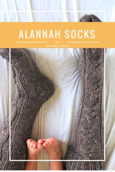 Chubby toddler toes and cozy mama feet <3 Shop the Alannah Socks at www.sparklytwig.etsy.com