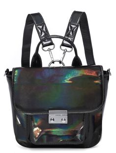 ULTRAVIOLET POTION MINI HOLOGRAPHIC SATCHEL - Bags - LAMODA