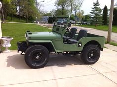 1952 Willys CJ-3A - Photo submitted by Harley Jacobson.