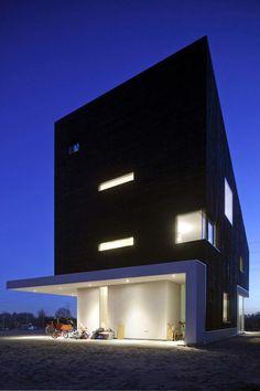 New Villa in Rieteiland Oost,© Luuk Kramer