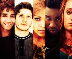 Misfits // Nathan // Simon // Alisha // Curtis // Kelly