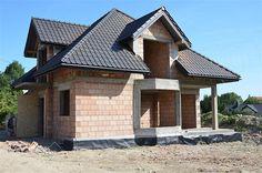 Projekt domu Śnieżka N 129,49 m2 - koszt budowy 220 tys. zł - EXTRADOM Building Design, Building A House, House Outside Design, Iron Handrails, Modern Bungalow House, Ethnic Home Decor, House Architecture, Home Fashion, Home Interior Design
