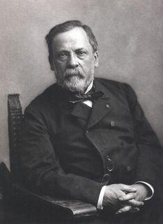 France. Portrait of Louis Pasteur, 1878 // by Félix Nadar