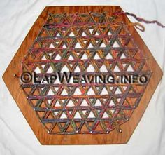 Basic Weaving Instructions for Hexagon Weaving Loom Potholder