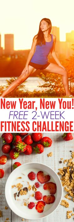 Try this FREE 2-Week Fitness Challenge -- perfect for beginners! It includes suggested workouts and meal plans with simple exercises and plenty of clean eating healthy recipes to help you feel great!