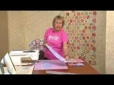 Quick Tips With Eleanor Burns: Honeycomb Quilt  I love this template and was able to order it by googling Honeycomb Template by Eleanor Burns.  jw