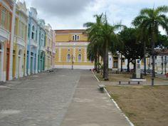 Cidade de João Pessoa - Paraíba - Cento Histórico. #João Pessoa - Paraíba - Brasil. O paraíso é aqui!