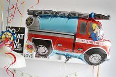 Eine Feuerwehrmann Sam Party zum Kindergeburstag