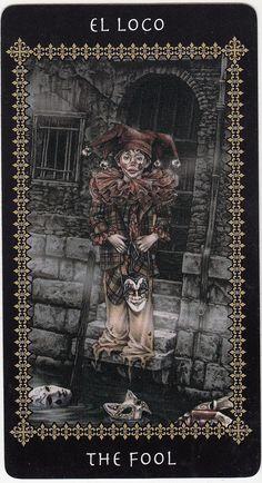 https://flic.kr/p/9Bc9NY | The Fool (Victoria Frances Tarot card) | Victoria…