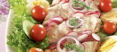 Savusiikasalaatti | Pääruoat | Reseptit – K-Ruoka Pasta Salad, Tacos, Ethnic Recipes, Food, Salads, Crab Pasta Salad, Essen, Meals, Yemek