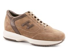 Hogan Interactive sneakers in beige suede leather - Italian Boutique €200