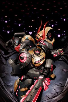 The Bad Flip Blog: Transformers Prime : Beast Hunters #3