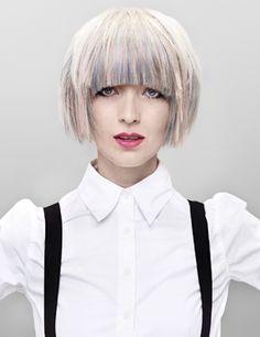 Pastel hair hues hot for Spring 2012! Hair: Audrey Audrine Petrosyan | Photos: Kames Kachan