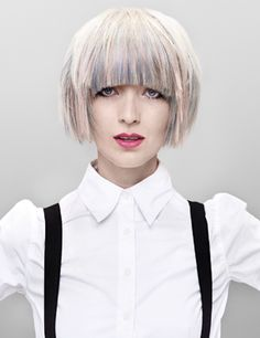 pastel hair hues hot for spring 2012 hair audrey audrine petrosyan ...