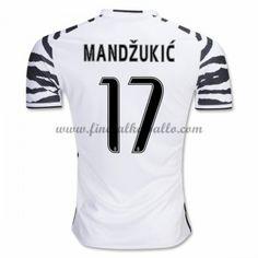 Jalkapallo Pelipaidat Juventus 2016-17 Mandzukic 17 3rd Paita