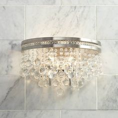 crystal bathroom light bar decor pinterest bathroom light bar