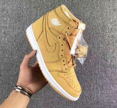 2327b3d8 Air Jordan 1 Retro Wheat Lola Clothing, Custom Jordans, Nike Air Jordans,  Jordans