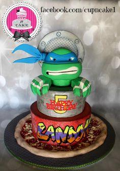 Teenage mutant ninja turtle cake! - Cake by Danielle Lechuga