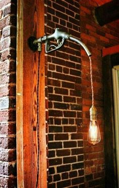 Very cool idea for a bar or garage.