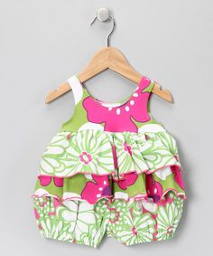 This bubbly romper has the same effect as a sour gummy bear. The colorful print is wild and tangy like pucker-worthy sugar, while deep ruffles around the belly leave a sweet aftertaste. Sour Gummy Bears, Baby Bloomers, Babies Clothes, Girl Stuff, Armoire, Pop Art, Baby Kids, Infant, Rompers