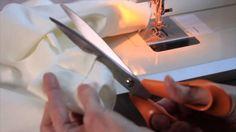 Annie Sloan - Fabric Tutorial No.2 - a simple curtain