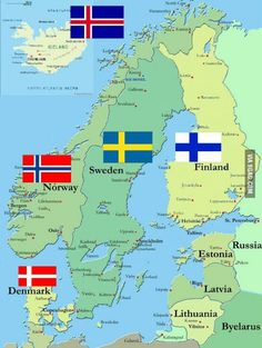 Any Scandinavians here? What's like there? My dream is to visit these countries!