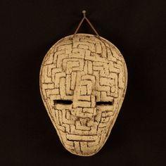 Items similar to Mason on Etsy Ceramic Mask, Sell On Etsy, Maze, Stoneware, Sculpture, Ceramics, Unique Jewelry, Handmade Gifts, Vintage