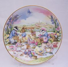 Vintage Little Nook Village The Picnic by by thesecretcupboard, $12.00