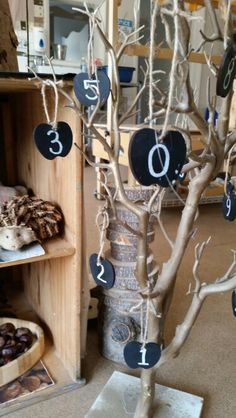 Playing with numbers at Chadwell Pre-school