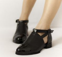 black shoes from alexander wang, pre-fall 2011.