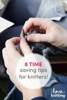 LoveKnitting has found you some time saving tips to get more knitting into your day! Read our post on the LoveKnitting blog.
