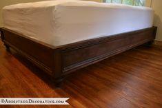 Cool DIY platform bed project