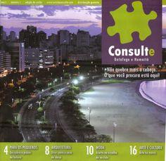 Revista criada para a agência Estudio Criatura. CONSULTE, era uma revista de bairro, do Jardim Botânico.
