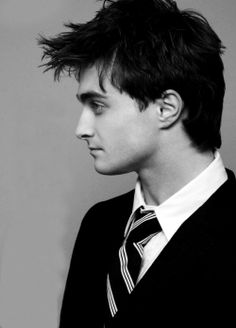 Daniel Radcliffe - I guess I'll eventually get used to him without the Harry Potter glasses
