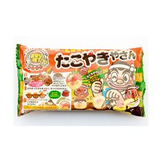 Japanese Snack Review: Takoyaki-ya San, or Gobs of Goo | Serious... ❤ liked on Polyvore featuring food, fillers, food & drinks, item and snack
