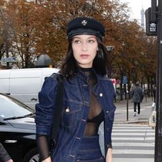 Bella Hadid spends time with her brother Anwar in Paris (315346)