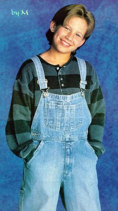 General picture of Jonathan Taylor Thomas - Photo 567 of 690 Overalls Fashion, Bib Overalls, Actor Picture, Actor Photo, Child Actors, Young Actors, Jonathan Taylor Thomas, Home Improvement Tv Show, Charlie Puth