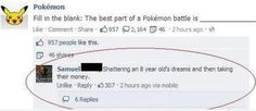 Best thing about Pokemon