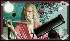 Isaac Newton nació el día de Navidad del antiguo calendario en 1642, año en que moría Galileo, en el pueblecito de Woolsthorpe. Entre sus hallazgos científicos se encuentran el descubrimiento de que el espectro de color que se observa cuando la luz blanca pasa por un prisma es inherente a esa luz. Newton fue el primero en demostrar que las leyes naturales que gobiernan el movimiento en la Tierra y las que gobiernan el movimiento de los cuerpos celestes son las mismas
