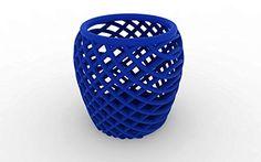 3D Printed Twisting Mesh Tea Light Candle Holder, Blue Matt Grote http://www.amazon.com/dp/B00RPONVNC/ref=cm_sw_r_pi_dp_VsQXub0PYPW30