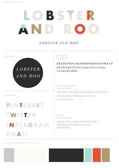 Font en kleurgebruik