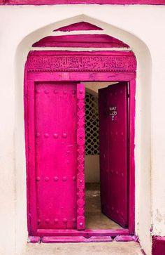 double doors - RETHINK PINK
