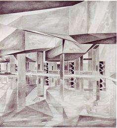 steven holl, palace of cinema, venice, 1990